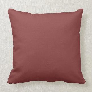 色の美しいテラコッタ赤い色合い クッション
