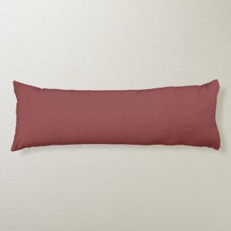 色の美しいテラコッタ赤い色合い ボディピロー
