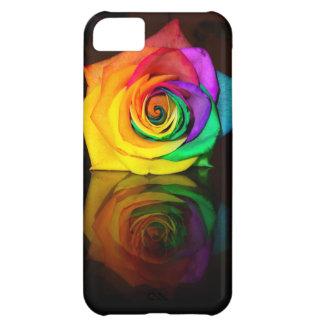 色の美しいバラ iPhone5Cケース
