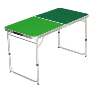 色の背景だけ-深緑色の草色 ビアポンテーブル