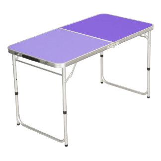 色の背景だけ-薄紫の薄紫 ビアポンテーブル