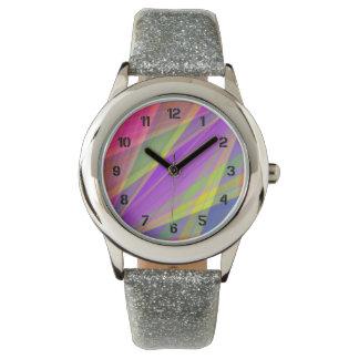 色の融合 腕時計