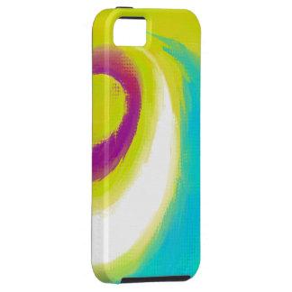色の調和-デジタル芸術のiPhone 5の場合 iPhone 5 タフケース