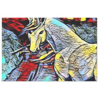 色の蹴り-ユニコーン 薄葉紙
