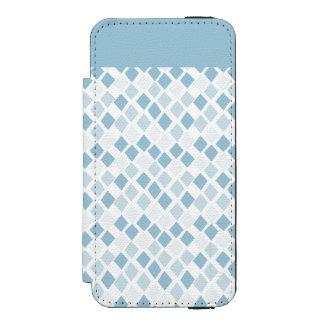 色の道化師のダイヤモンドパターンを選んで下さい iPhone SE/5/5sウォレットケース