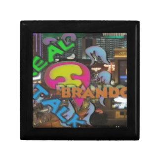 色のBrandonとのJewlery箱の実質の話 ギフトボックス