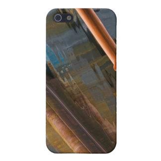 色のiPhoneの場合の浮遊 iPhone 5 ケース