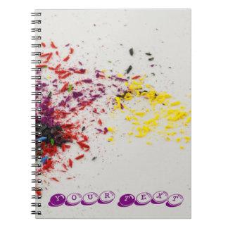 色のShavings ノートブック
