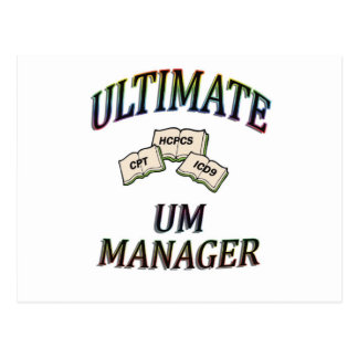 色のUMのマネージャー ポストカード