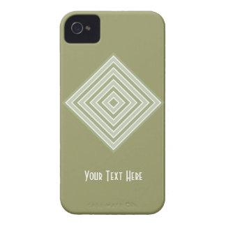 色はカスタムなiPhoneの穹窖を平方します Case-Mate iPhone 4 ケース