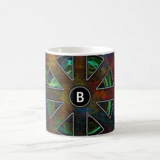 色エネルギーのDharmaの車輪 コーヒーマグカップ
