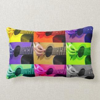 色ブラインドのギター-装飾用クッション ランバークッション