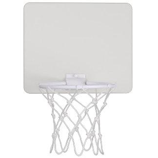 色プラチナ ミニバスケットボールゴール