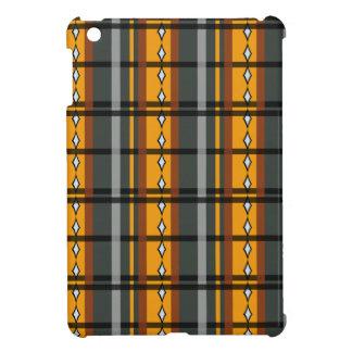 色彩の配合のダイヤモンドの格子縞: モダン iPad MINIケース