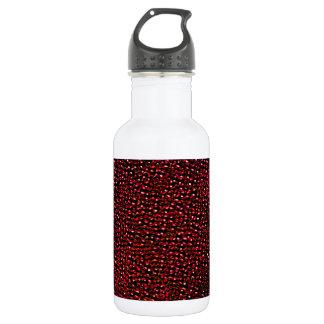 色彩の鮮やかで赤い宝石 ウォーターボトル