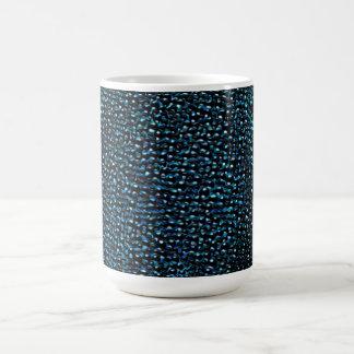 色彩の鮮やかで青い宝石 コーヒーマグカップ