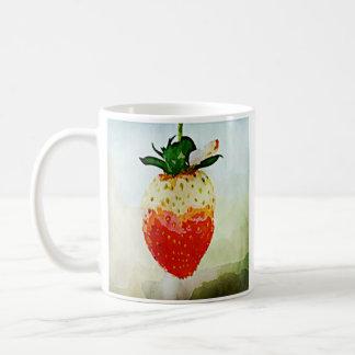 色彩の鮮やかないちご コーヒーマグカップ