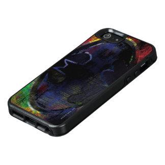 色彩の鮮やかなこうもりの記号 オッターボックスiPhone SE/5/5s ケース
