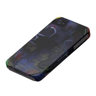 色彩の鮮やかなこうもりの記号 Case-Mate iPhone 4 ケース