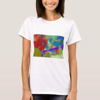 色彩の鮮やかなキャンバスIの   Tシャツ