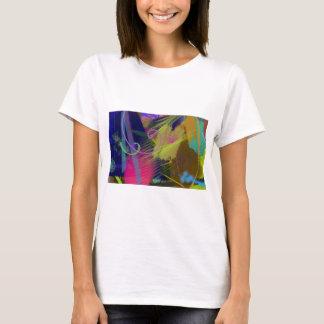 色彩の鮮やかなキャンバスIIの   Tシャツ
