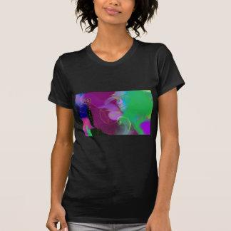 色彩の鮮やかなキャンバスIIIのTシャツ Tシャツ