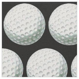 色彩の鮮やかなゴルフ・ボールパターン ファブリック