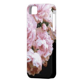 色彩の鮮やかなシャクヤクのiPhoneの場合 iPhone SE/5/5s ケース