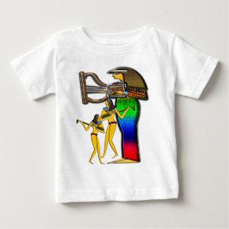 色彩の鮮やかなデジタル; 早いエジプト人2の服装 ベビーTシャツ