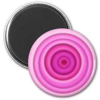 色彩の鮮やかなピンク マグネット