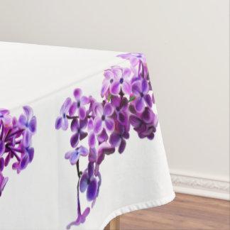 色彩の鮮やかなライラック テーブルクロス