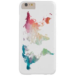 色彩の鮮やかな世界地図 BARELY THERE iPhone 6 PLUS ケース