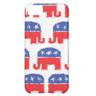 色彩の鮮やかな共和党象 iPhone5Cケース