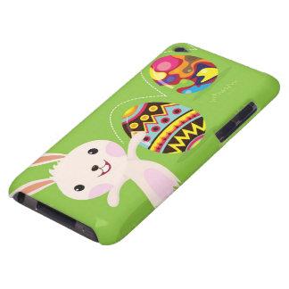 色彩の鮮やかな卵とよくはしゃぐなイースターのウサギ Case-Mate iPod TOUCH ケース