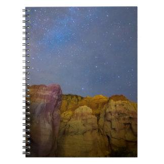 色彩の鮮やかな夜 ノートブック