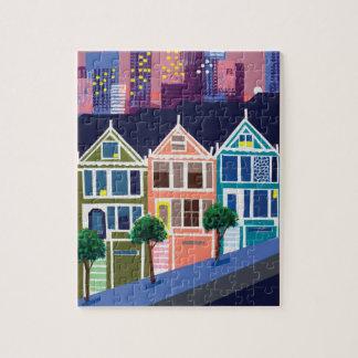 色彩の鮮やかな女性パズル ジグゾーパズル