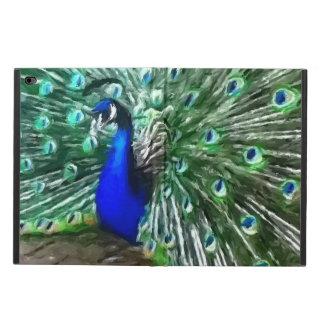 色彩の鮮やかな孔雀 POWIS iPad AIR 2 ケース