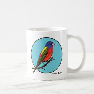 色彩の鮮やかな旗布 コーヒーマグカップ