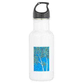 色彩の鮮やかな木 ウォーターボトル