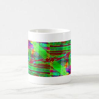 色彩の鮮やかな板… コーヒーマグカップ
