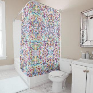 色彩の鮮やかな点|のシャワー・カーテン シャワーカーテン