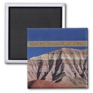 色彩の鮮やかな砂漠のFlagstaffアリゾナ マグネット