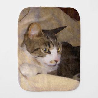 色彩の鮮やかな絹の子猫 バープクロス