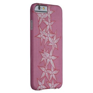 色彩の鮮やかな花のピンクの電話箱 BARELY THERE iPhone 6 ケース