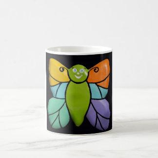 色彩の鮮やかな蝶、マグ コーヒーマグカップ