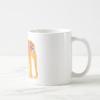 色彩の鮮やかな象のマグ コーヒーマグカップ