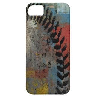 色彩の鮮やかな野球のiphoneの場合 iPhone SE/5/5s ケース