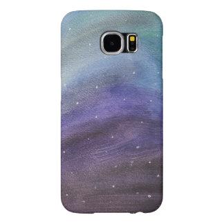 色彩の鮮やかな銀河系の電話箱 SAMSUNG GALAXY S6 ケース