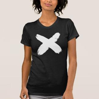 """色彩の鮮やかな""""X""""のTシャツ Tシャツ"""