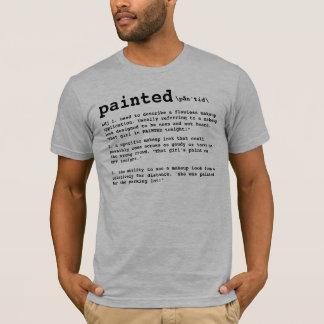色彩の鮮やか、メーキャップアーティスト定義 Tシャツ
